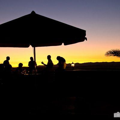 Abendstimmung in Namibia