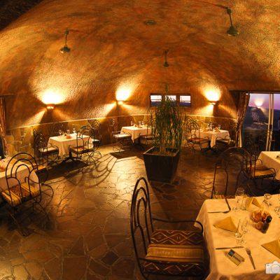 Abendessen mit Stil in Namibia