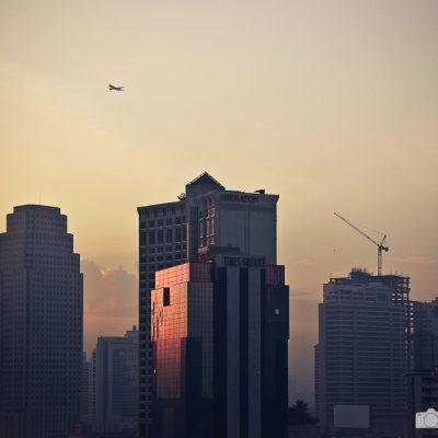 Bangkok am frühen Morgen