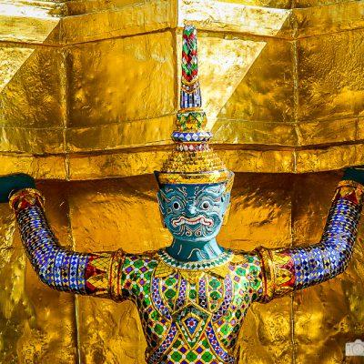 Figur im Wat Phra Kaeo Bangkok