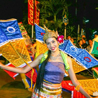 Loi Krathong Lichterfest in Bangkok